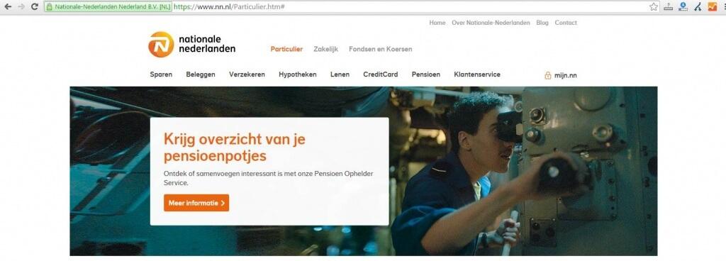 kijkrichting website voorbeeld nationale nederlanden